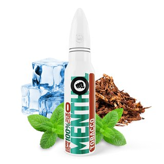 Tabacco Menthol Liquid 50 ml nikotinfrei in 60 ml Flasche